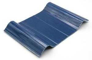 anti-corrosion tile blue